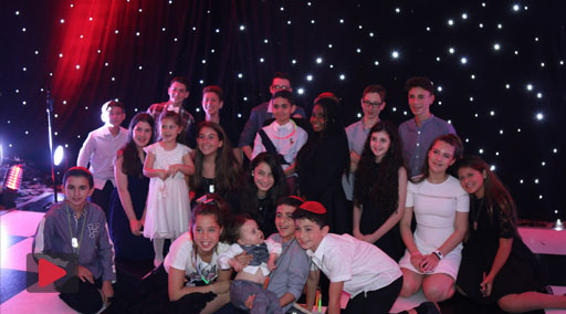 The Barmitzvah Party of Toby Khanzadeh at Hallmark Hotel, Wilmslow 10th September 2017